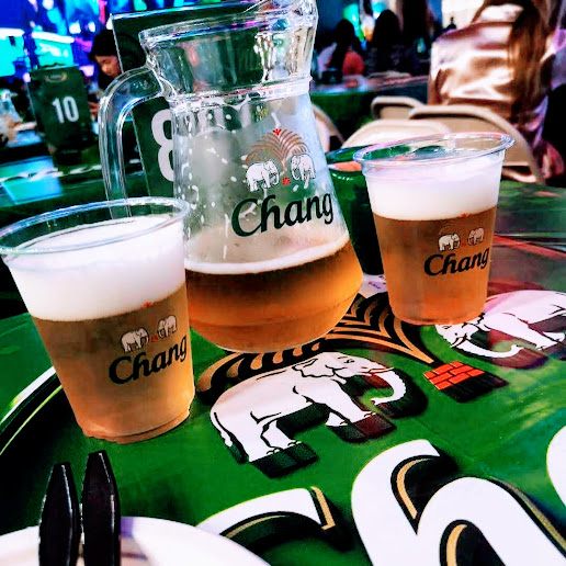 【バンコク伊勢丹前Central World期間限定タイビール、チャンビアーのビアガーデン】Chang beer garden @CTW