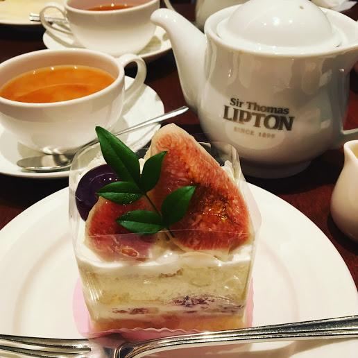 【京都駅からすぐのポルタ内のカフェ】リプトンティーハウス