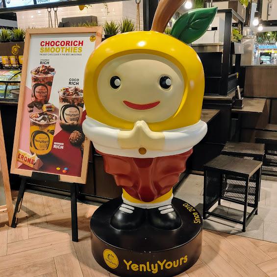 【バンコクエムクオーティエで美味しいマンゴー】イェンリー・ユアーズ(Yenly Yours)